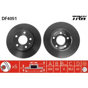 Trw DF4051 Disco Freno