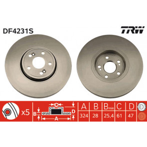 16-15 521 0027 Meyle Disco De Freno Fit Renault