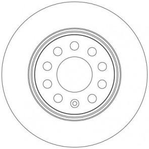 TRW DF4294 Brake Disc