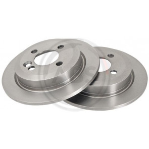 2X MINTEX REAR DISC BRAKES MDC1804 MINI MINI R50 R53 R56 R55 R52 R57 R58 R59