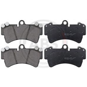 Brembo Borg /& Beck BBP2236 Front Brake Pads