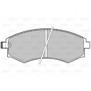 Brembo P30022 Front Disc Brake Pad Set of 4
