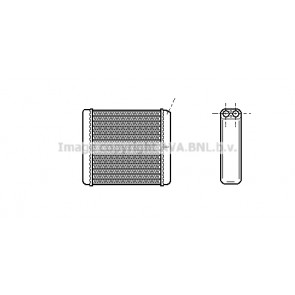 NRF 52219 Radiador de calefacci/ón
