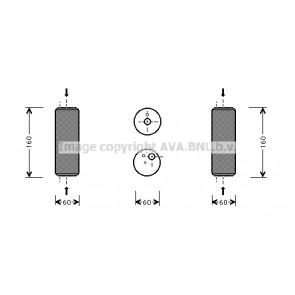 Air Conditioning Van Wezel 5800D014 Dryer