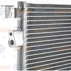 Nissens Condenser 94597 Fit with Opel Vectra C