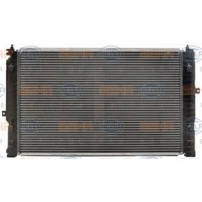 Hella 8mk 376 716-621 radiador motor refrigeración para VW