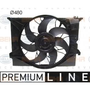 8EW 376 791-681 HELLA Fan  radiator