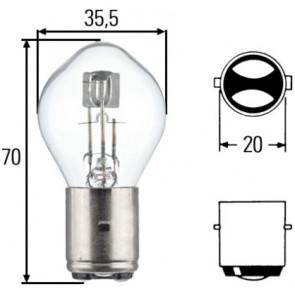 HELLA 8GD 002 084-131 Bulb headlight