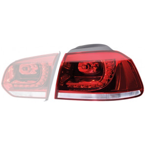 2SD 010 408-081 HELLA Combination Rearlight Right