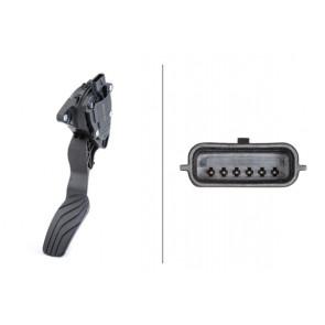 accelerator pedal position HELLA 6PV 009 978-801 Sensor