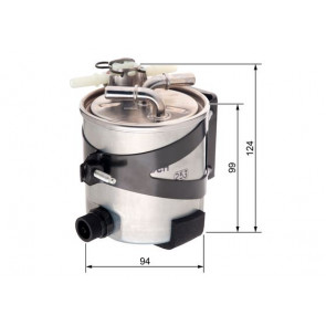 Filtro de combustible Bosch f 026 402 016