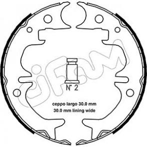 MINTEX MFR591 Brake Shoe Set