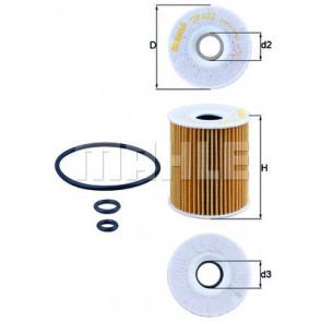 Knecht OX 422D Oil Filter