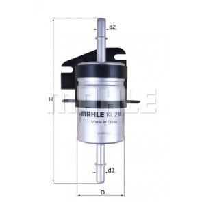 Fiat Seicento Fuel Filter Motaquip VFF430