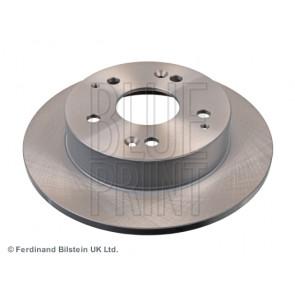 full rear of Holes 5 No Blue Print ADH24372 Brake Disc Set 2 Brake Disc