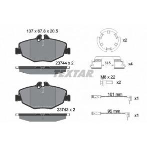 Textar 2374303 plaquettes de frein avant pour Mercedes Classe E w211