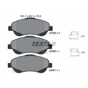A set of Brake Pads Part number ADB31112 GDB1570 MDB2073 FDB1424