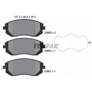 set of 4 disc brake Ferodo FDB1639 Brake Pad Set