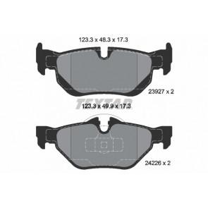 MDB2683 Rear Brake Pads Fits Teves System Prepared For Wear Indicator By Mintex