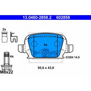 Vauxhall Corsa C Set Of Rear Brake Pads Part Number 93176117