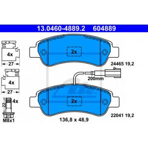 NEW MINTEX REAR DISC BRAKE PADS SET MDB3766
