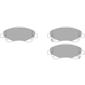 FRONT BRAKE PADS  FOR TOYOTA AVENSIS NP2061