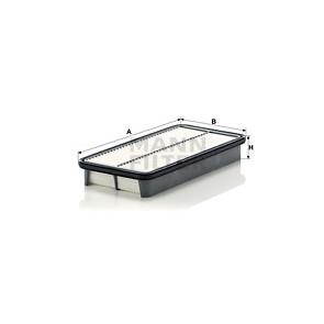 BLUE PRINT Luftfilter ADT32220 Filtereinsatz für TOYOTA COROLLA Wagon AVENSIS 2