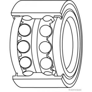 Radlagersatz BTA H13013BTA