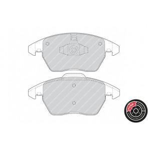 disc brake set of 4 Ferodo FDB4190 Brake Pad Set