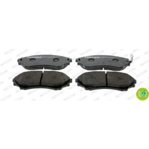 disc brake Ferodo FDB1817 Brake Pad Set set of 4