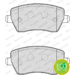 set of 4 disc brake Ferodo FDB4069 Brake Pad Set