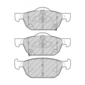 IX Ferodo Brake Disc Pad Set Front Honda Civic VIII