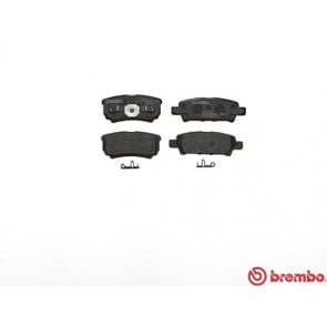 Brembo P54034 Pad Set Rear Brake Pads Mitsubishi Outlander Dodge Avenger
