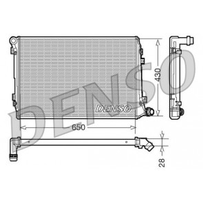 Nissens 65292 Radiator engine cooling