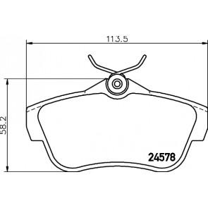 Fits Citroen Dispatch Fiat Scudo Eicher Front Brake Pads Set Lucas System
