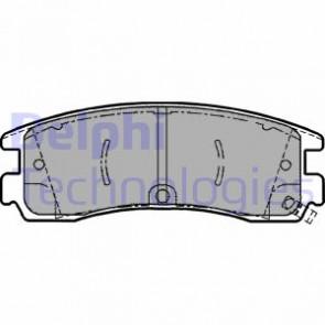 Rear brake pads Vauxhall Sintra 97-99