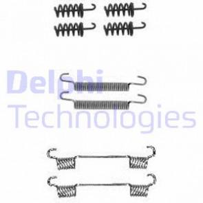 DELPHI Parking Brake Shoes Accessory Kit For MERCEDES VW Sprinter 906 06-16