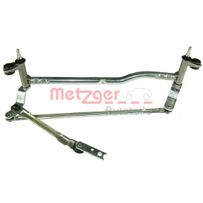 Metzger Wiper Linkage Left Front For VW Touran 03-10