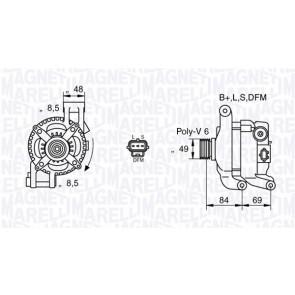 Alternator Magneti Marelli 063377417010